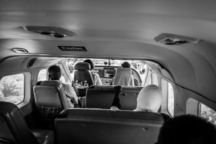 Inbound to Pemba Island