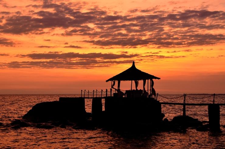 Sunset at Kaya Mawa