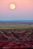 Super Moon, Painted Desert