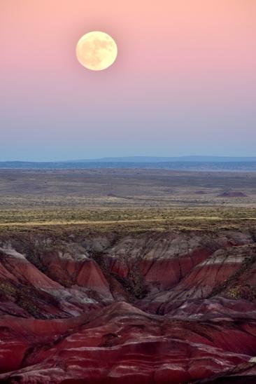 Super Moon, Painted Desert