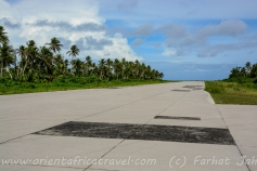 Ulithi is the only other concrete strip in Yap State