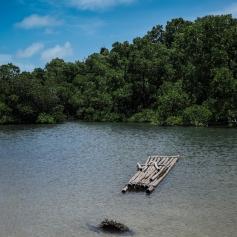 Traditional canoe yap