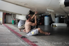 All PMA pilots have to be mechanics as well