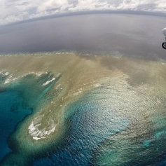 A britan Norman Islander in Yap- photo by Joe Stephanelli