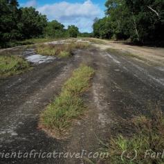 Yap's old runway